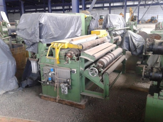 1280MM X 3MM X 12,000 KG SLITTING LINE