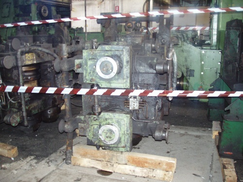 4 STAND HORIZONTAL/VERTICAL SIZING MILL
